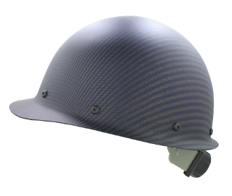 CC™ Carbon/Blue Kevlar® Bump Cap