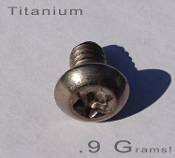 Titanium Add-On Bolt and Nut Set