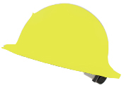 CC™ Carbon Fiber/Kevlar Hard Hat : Full Brim : Color Painted